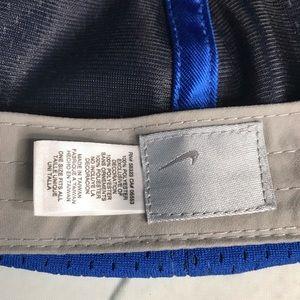 Nike Accessories - Nike Just Do It swoosh blue baseball cap